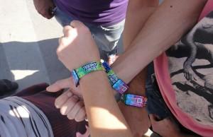 La pulsera, el elemento fundamental para acceder al Lollapalooza.