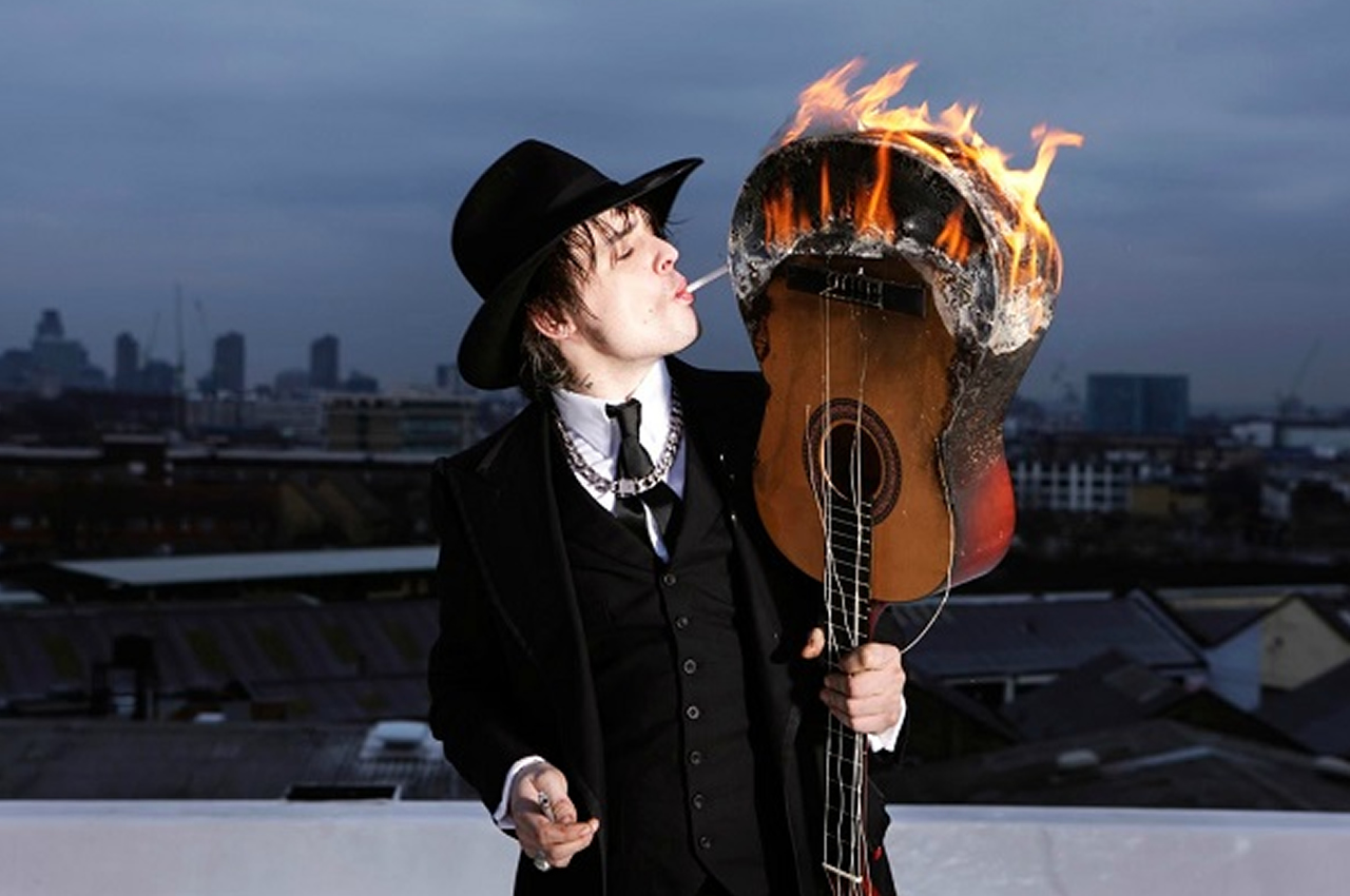 5 acústicos de Pete Doherty