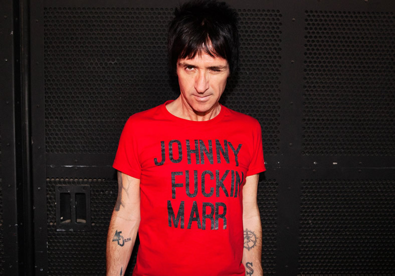 Johnny Marr comparte una playlist con sus canciones y bandas favoritas