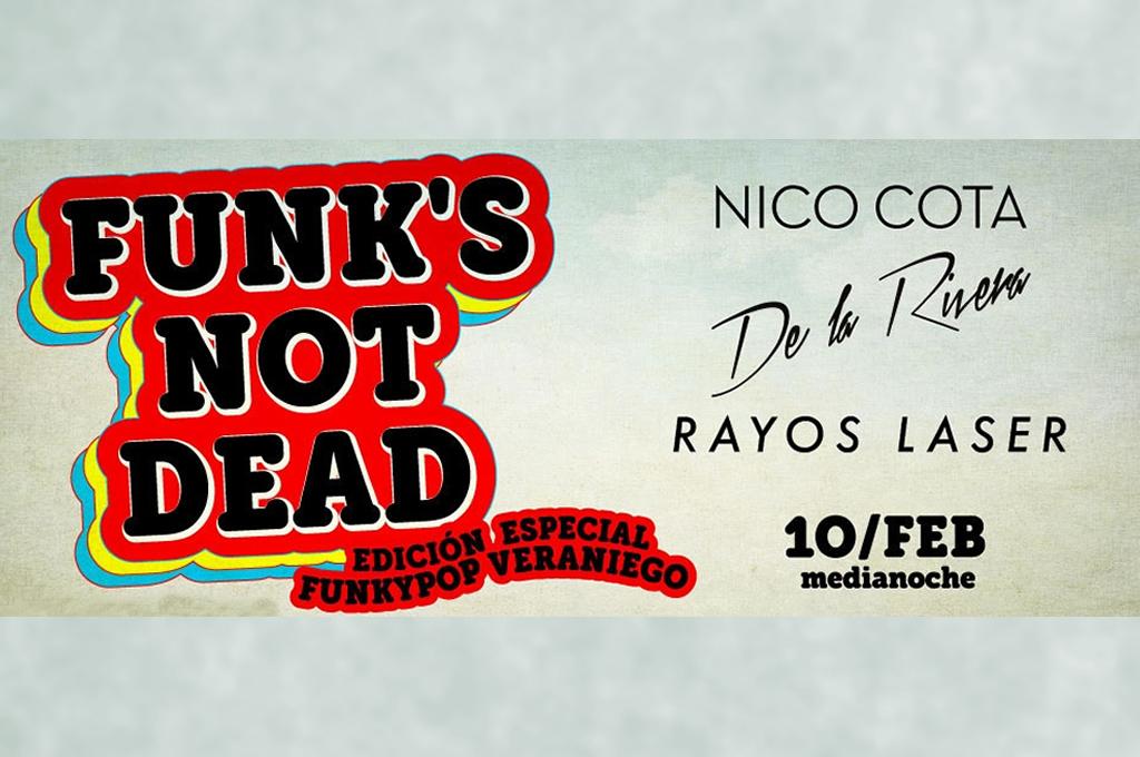 FUNK'S NOT DEAD en el KONEX