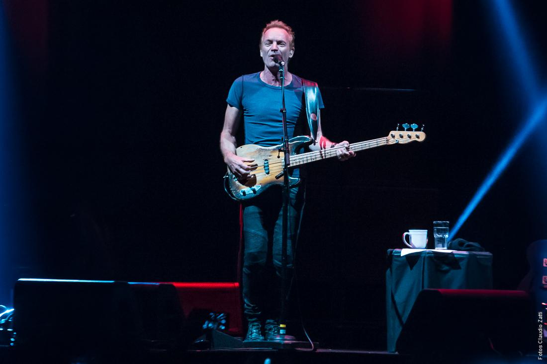 Sting en Buenos Aires: todo quedó en familia