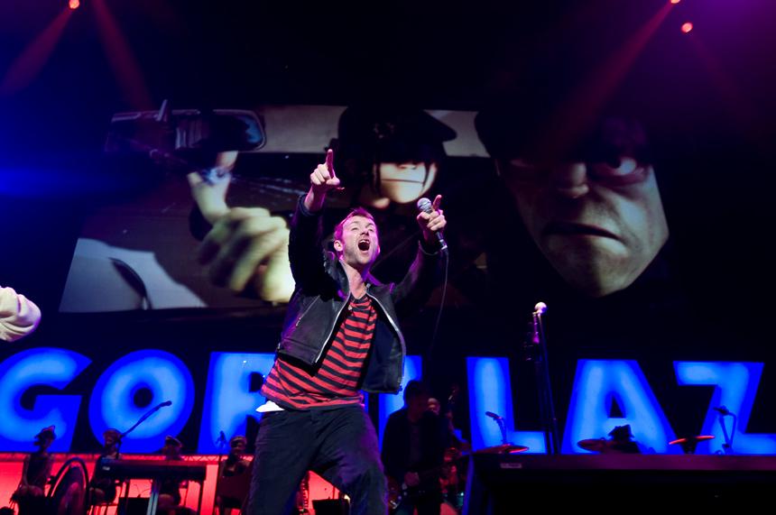Gorillaz y Arcade Fire a la cabeza del Festival BUE 2017