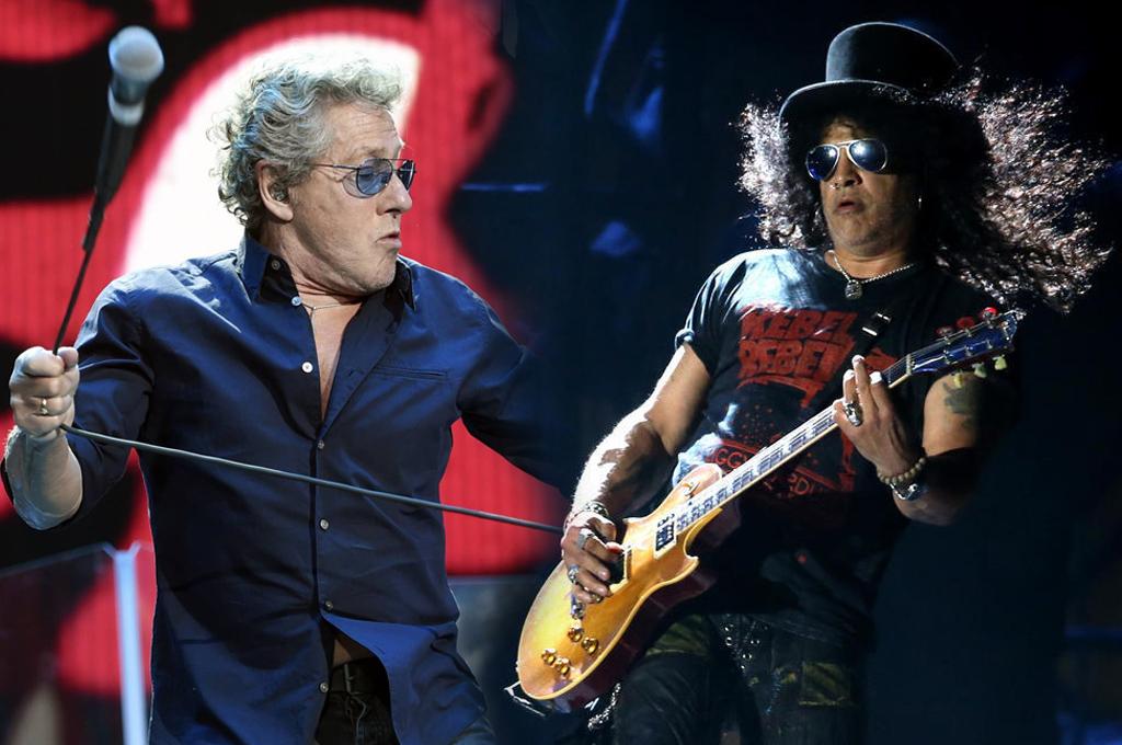 Cita histórica: The Who y Guns N' Roses tocarán juntos en Argentina