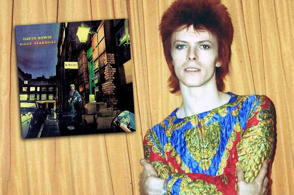 The Rise and Fall of Ziggy Stardust and the Spiders from Mars, de Bowie