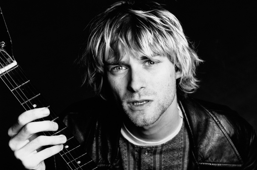 Los cuadros pintados por Kurt Cobain se expondrán en Seattle