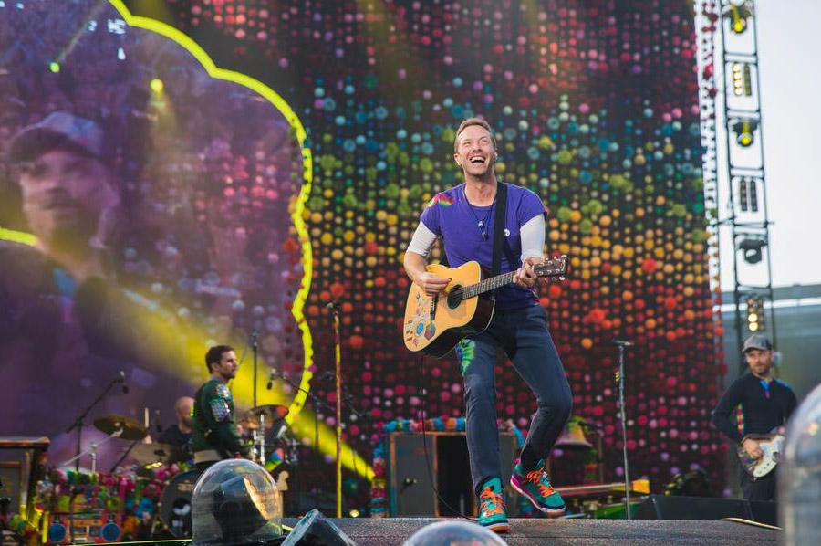 Coldplay en París: La ciudad technicolor