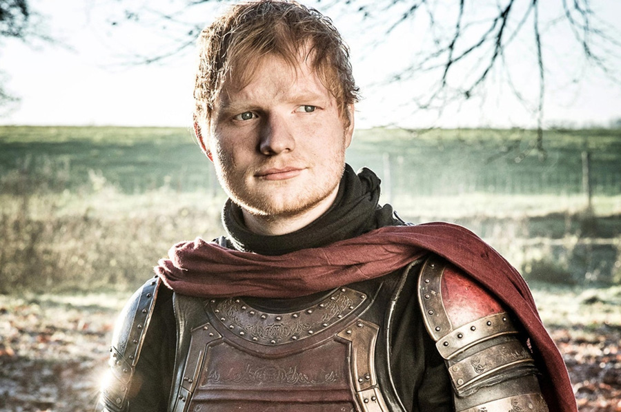 Ed Sheeran en Games of Thrones: un soldado Lannister con buena voz