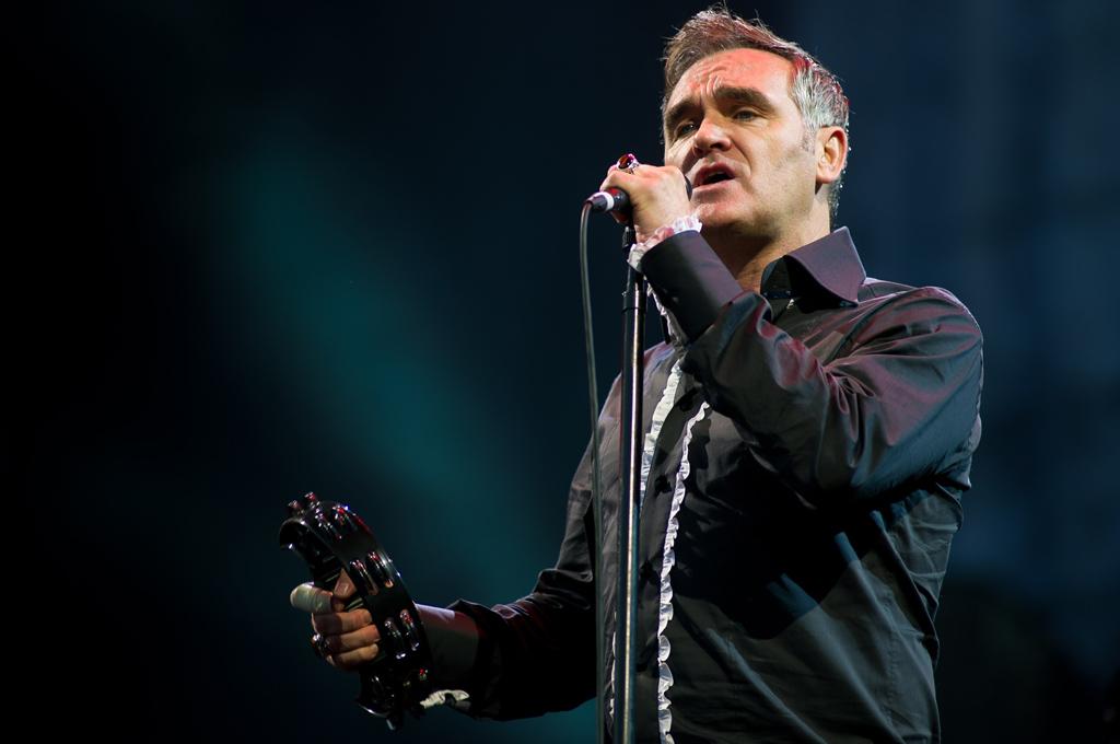 Spotify delató los próximos shows de Morrissey