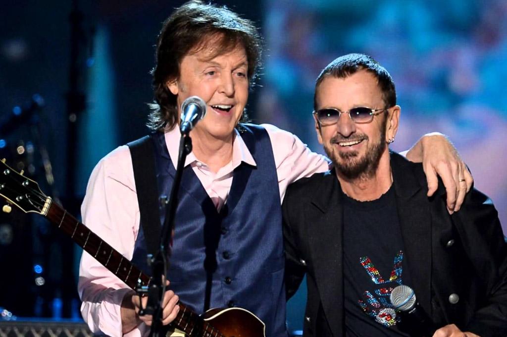 Escuchá 'We're On the Road Again', lo nuevo de Ringo Starr y Paul McCartney