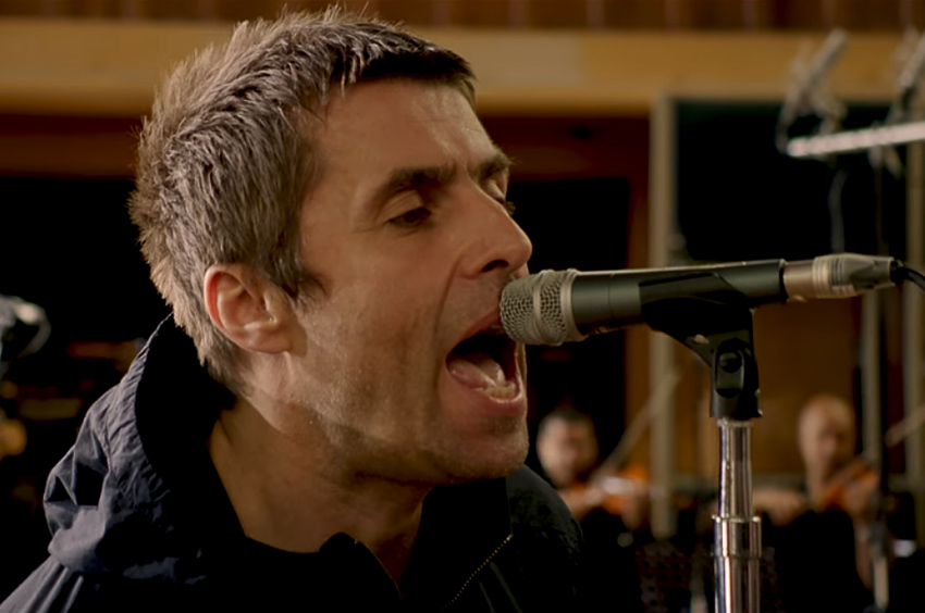"Liam Gallagher compartió el video oficial de ""For What It's Worth"""