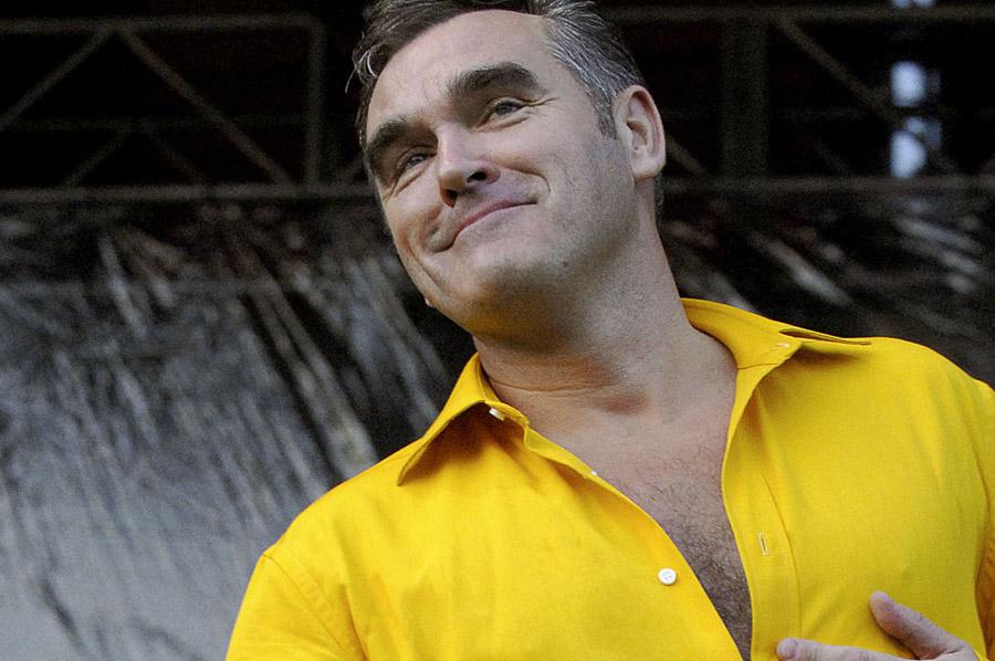 Morrissey con nueva canción y cuenta de Twitter