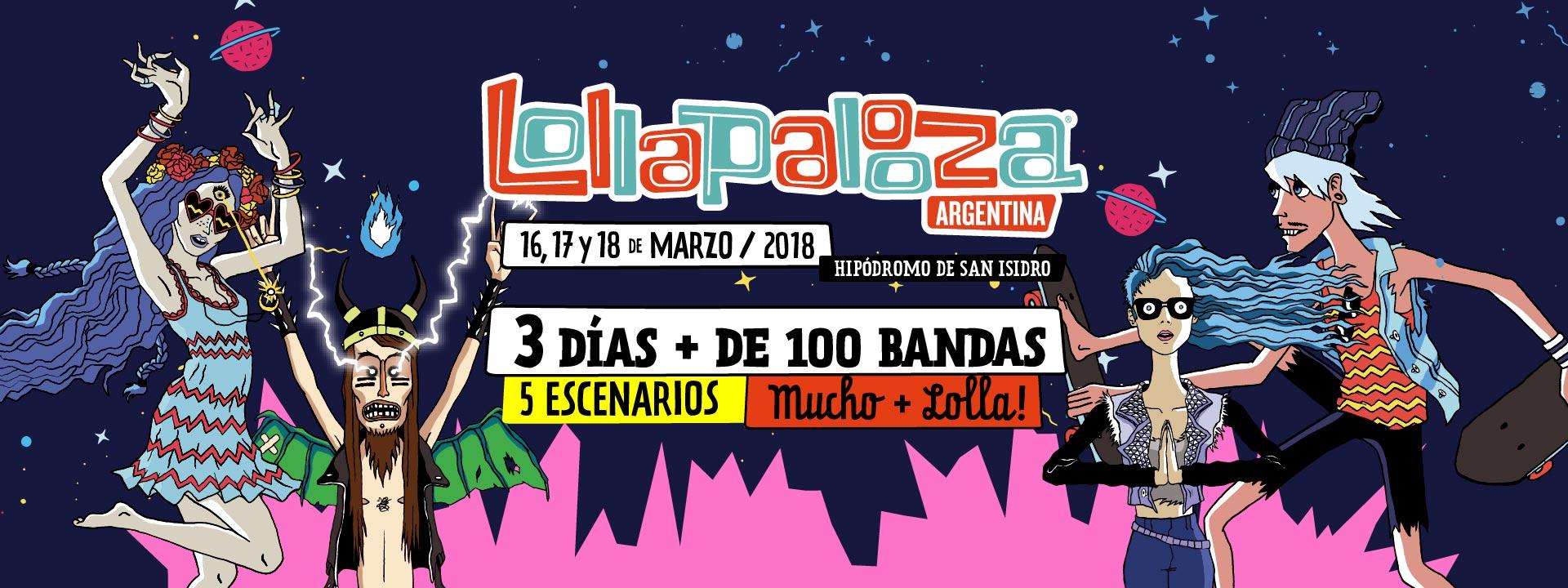Estos serán los sideshows del Lollapalooza