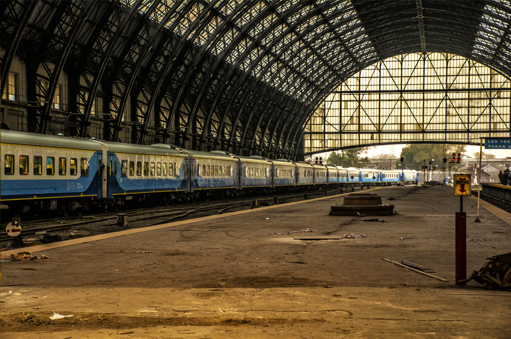 Estación Retiro: Pasaje de ida