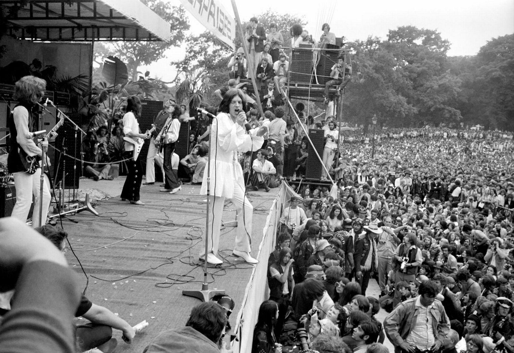 En vivo en Hyde Park: tres shows para la historia